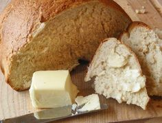 Recipe:  No-Time Bread (awesome recipe) love how you can make yeast bread in almost no time on weekend mornings with the simple addition of some extra yeast and a few quick trips in the microwave