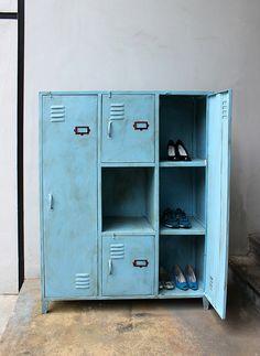 Locker Cabinet for Jack's Sports theme bedroom
