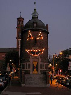 Happy Halloween - Harvard Lampoon Hearst castle transformed. Trick or treat!