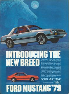'79 Ford Mustang ad - Zeckford.com #ZeckFord #ThrowBackThrusday