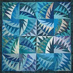 Doug's Quilt by Nancy Messier. Untitled by Karen K. Stone