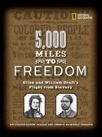 Ellen and William Craft were two of the few slaves to ever escape from the Deep South. Their first escape took them to Philadelphia, then on to Boston pursued by slave hunters, and finally 5000 miles across the ocean to England, where they were able to settle peacefully.