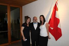 @joydevlin: Meeting the Swiss Ambassador at his residence in Canberra