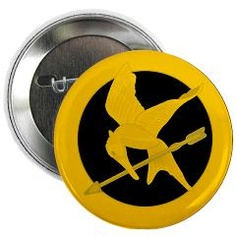 Need! Hunger Games mockingjay button! game mockingjay, hunger game, button
