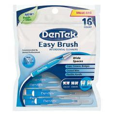 Easy Brush Wide | DenTek Oral Care brush wide, easi brush