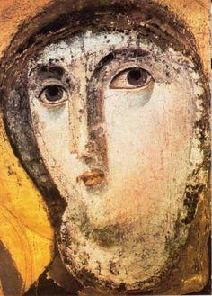 Byzantine Icons, Holy Virgin Mary Santa Maria Francesca, Italy