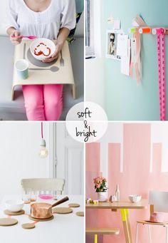 pastel & neon