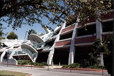 CSUN My school parking garage 1994 Northridge quake