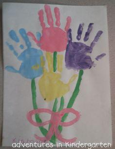 Adventures in Kindergarten: Mother's Day Art