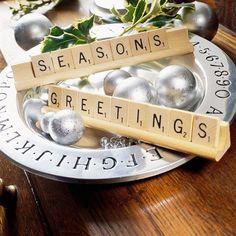 Scrabble Season's Greetings