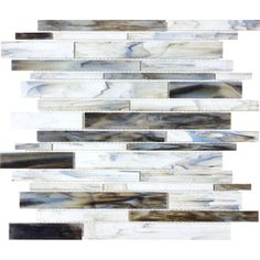 12-in x 14-in Pacific Pearl Glass Wall Tile ($10.98/sq ft from Lowes).