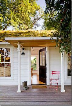 Green Roof : Jessica Helgerson Interior Design : Lisa Porter Collection