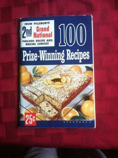 Orange Kiss-me cake won first prize in 2nd annusl Pillsbury Bake Off contest 1950.
