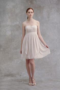 bridesmaids, idea, jenni yoo, bridesmaid dresses, colors, lux chiffon, chiffon dresses, keira, yoo collect