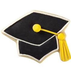 A black graduation cap is the symbol of higher education. Great for college and advanced degree celebrations. Hats off to the graduate!