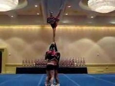 Brittany Cheer Stunt Competition Orlando June 2007
