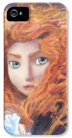 Merida from Pixar's Brave (Disney) iPhone5 Case - Pixals.com