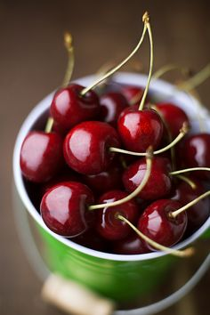Wonderful Cherries in a Bowl photograph #CherryFruit