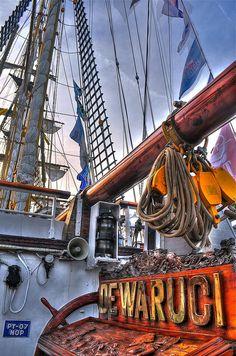 Tall Ship Dewaruci in Savannah, GA by Jumpin2009