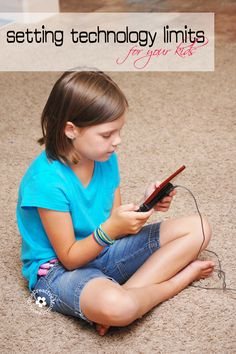 Help kids balance their time this summer by limiting their time with technology {How-To Tips from OneCreativeMommy.com} #activeparenting