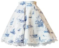 Set Sailor mit Petticoat