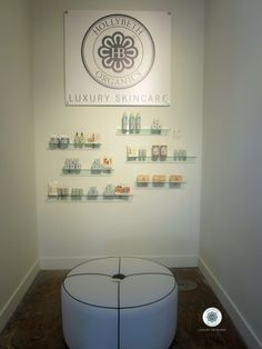 the most exquisite display Atlanta MADE created for HollyBeth Organics - time to restock! if you are in Atlanta please stop by Atlanta MADE
