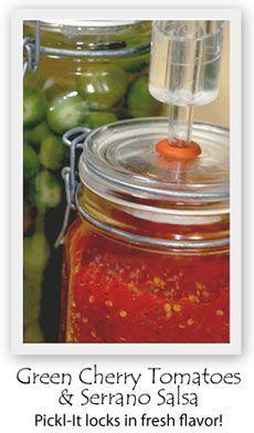Pickl-It jars for DIY lacto-fermentation