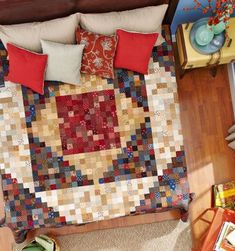 So Many Squares by designers Sarah Maxwell and Dolores Smith of Homestead Hearth.