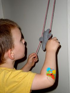 Tutorials Crafts Projects Kids Children Handmade: Sewn Felt Climbing Bear Toy Tutorial
