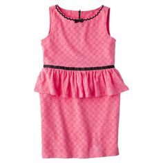 Harajuku Mini for Target® Girls Tunic Dress -  Coral Blush..tried this on Maia and she looked so cute!!!