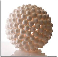 lights, lamps, lamp design, balls, shells, eggs, art, egg shell, shell light