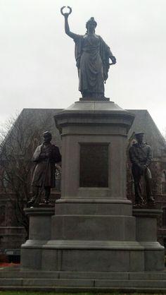 Monument Park, Fitchburg, MA
