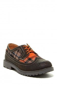Florsheim Florsheim Valco Jr. Wingtip Oxford (Little Kid & Big Kid)