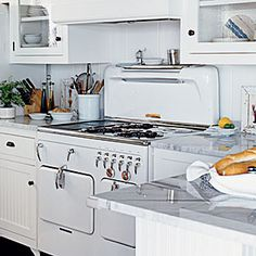 10 Steps to Classic Cottage Style   Remember When   CoastalLiving.com  Cool Chambers Stove.