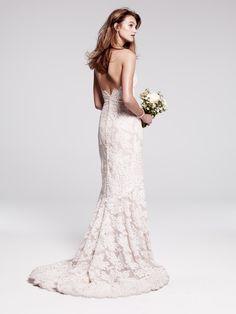 La Fleur by Anne Barge, Alençon lace gown - stunning!