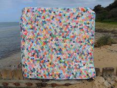 My hexagon quilt!
