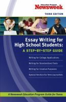 Essay Writing for High-school Students