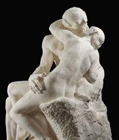 Auguste Rodin - El Beso.
