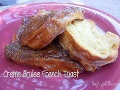 Creme Brulee French Toast    #TemptYourSenses #Cbias