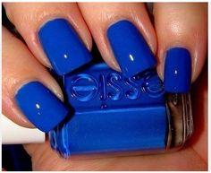 nail polish, color blue, cobalt blue, nail colors, electric blue, deep blue, bold colors, nail art, blue nails