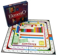 ElementO -- Game to Learn the Periodic Table of the Elements... I want this!!