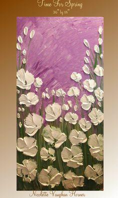 Original   abstract contemporary impasto fine art  by artmod