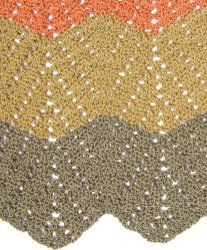 Double V-stitch Ripple Blanket | AllFreeCrochetAfghanPatterns.com