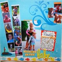 water fun scrapbook