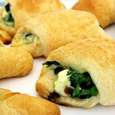 Spinach Feta Crescent Rolls