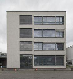 Ludwig Mies van der Rohe industrial building Verseidag, Krefeld, Germany, 1931. Photo: Volker Döhne.