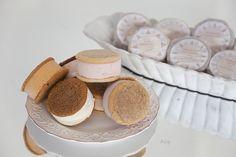 Ice Cream Sandwiches from  Nye's Cream Sandwiches @Nye's Cream Sandwiches | #marthaweddingsparty