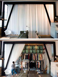 cortinas...