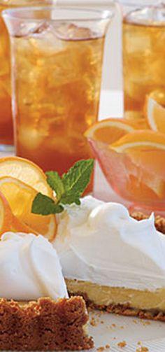 Sweet Tea Icebox Tart