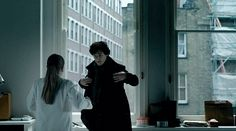 Sherlock and Molly. Go ahead. watch it a million times. sexiest. gif. ever. (pinning this again for those who missed it. Or just for another looksee. Yowza.)